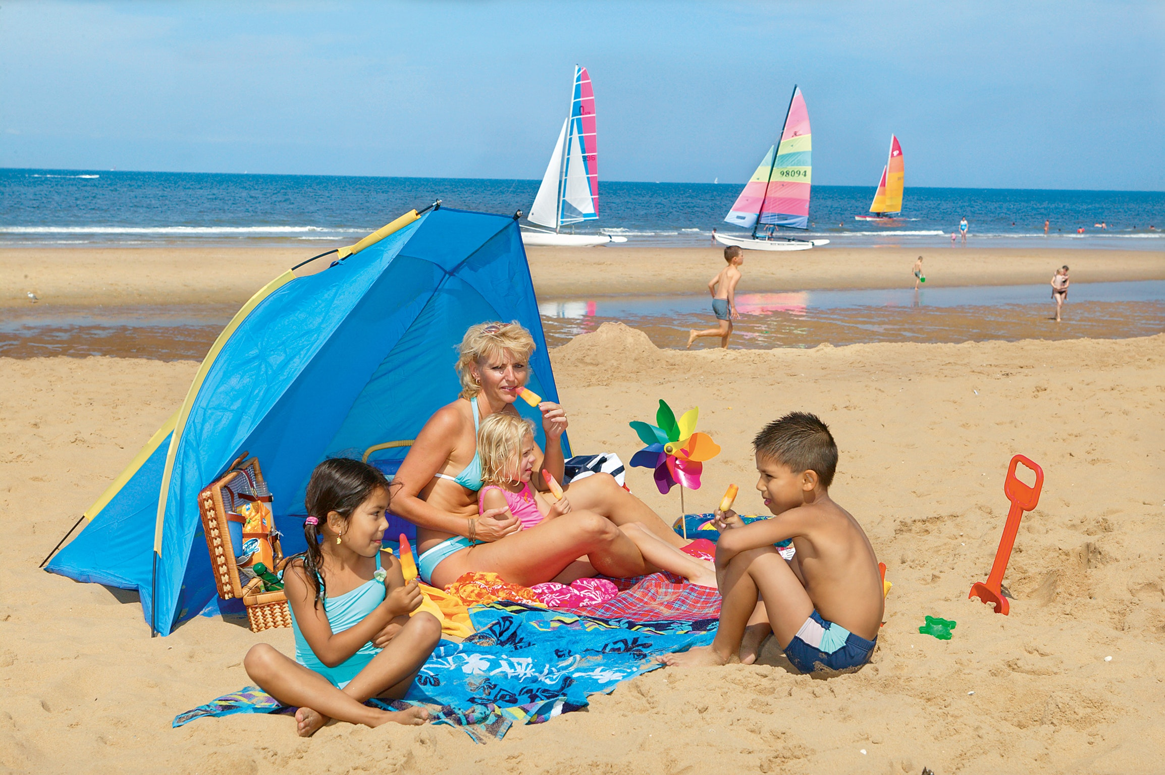 strand camping Duinrell