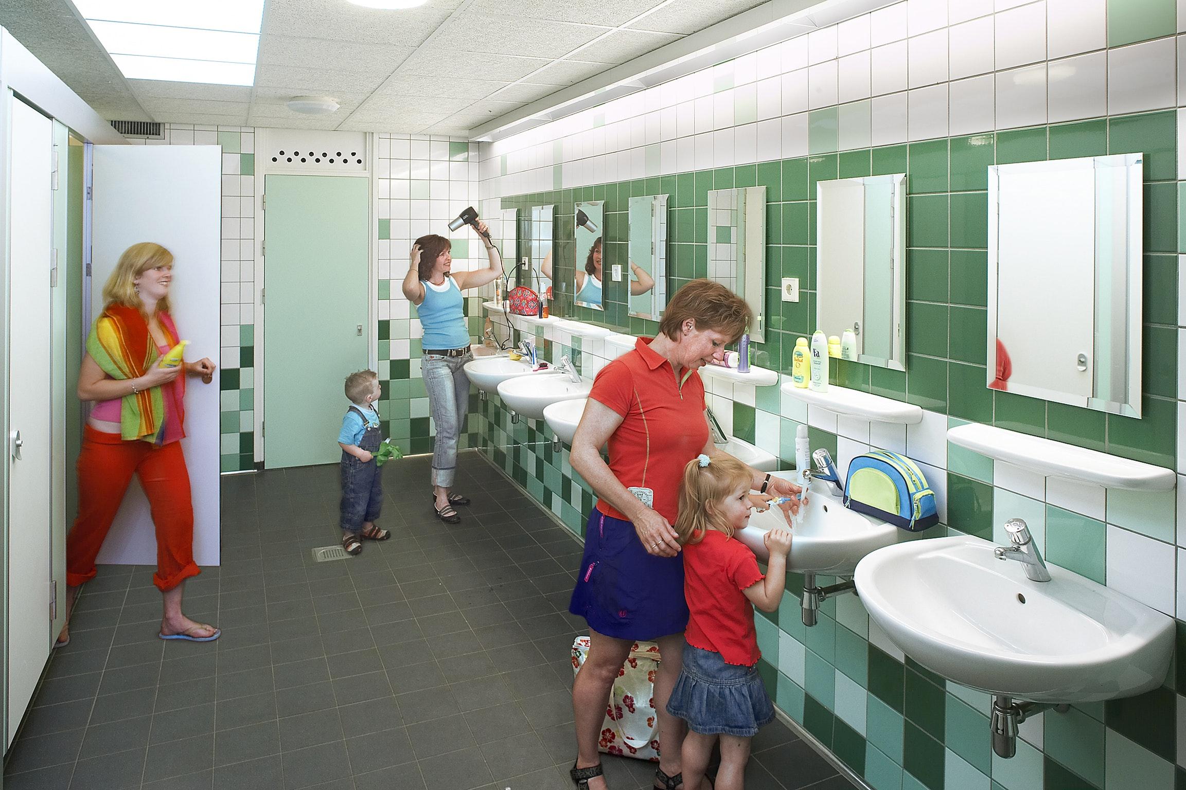 sanitair camping Duinrell