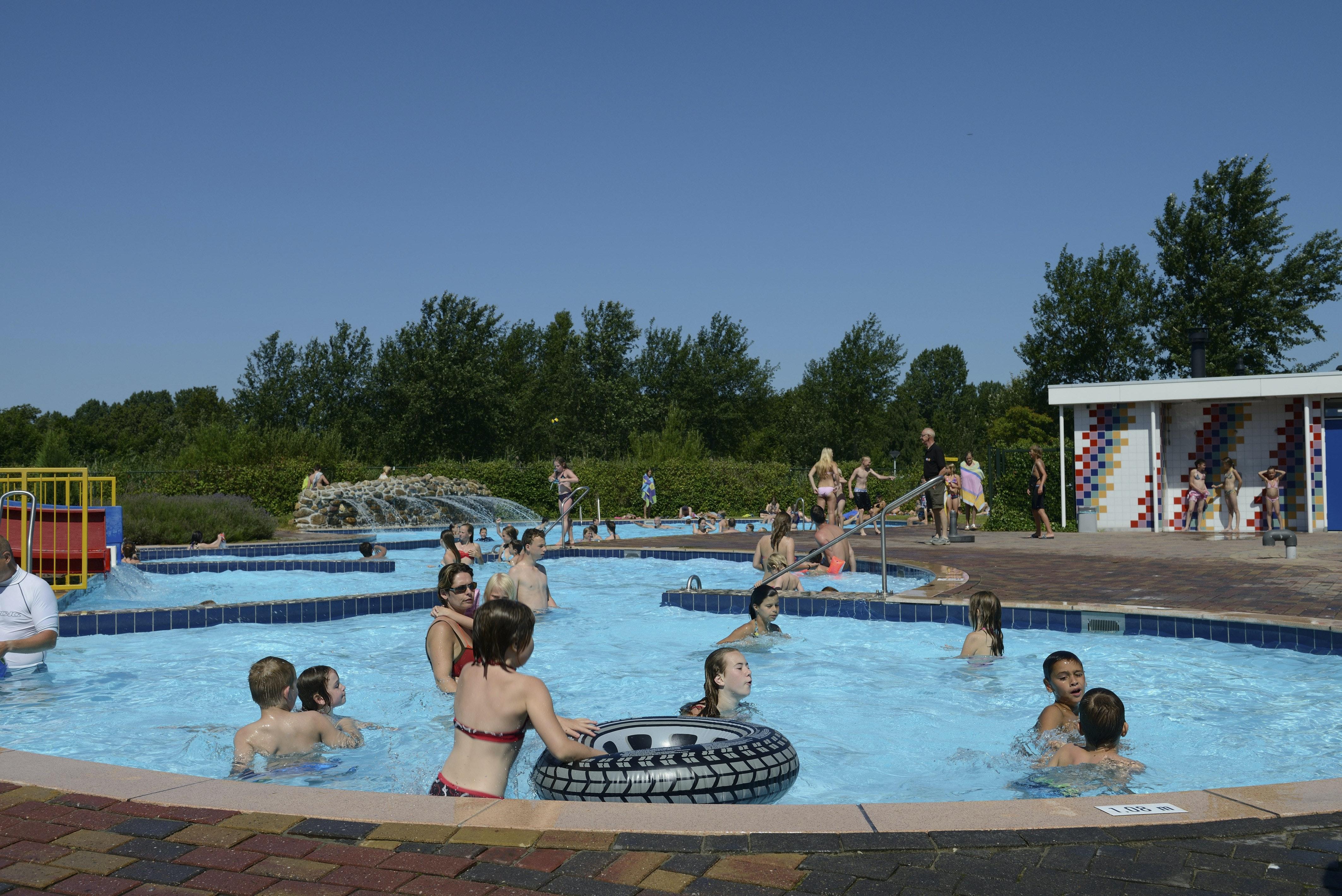 zwembad camping de Schotsman