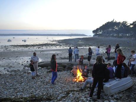Kampvuur camping Port l Epine