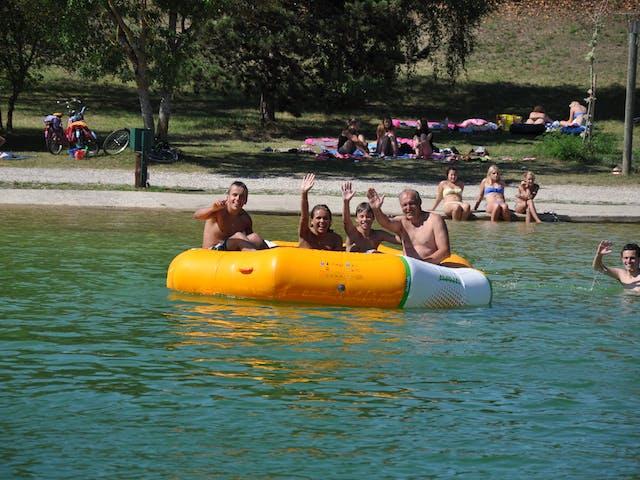 zwemmeer camping Domaine Les 3 Lacs du Soleil