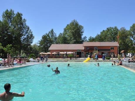 zwembad camping Domaine Les 3 Lacs du Soleil