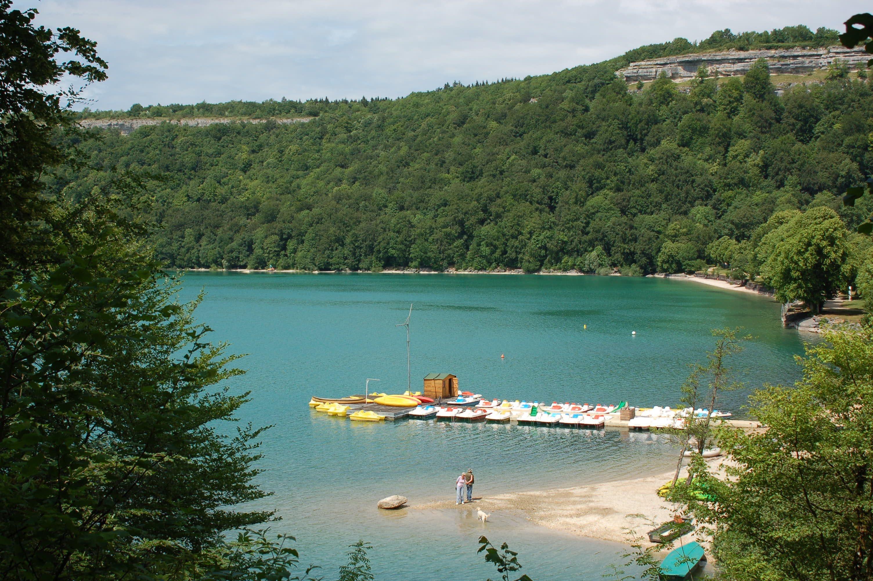 strand camping Domaine de Châlain