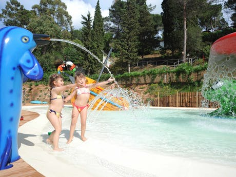 Kinderbad camping Rosselba le Palme