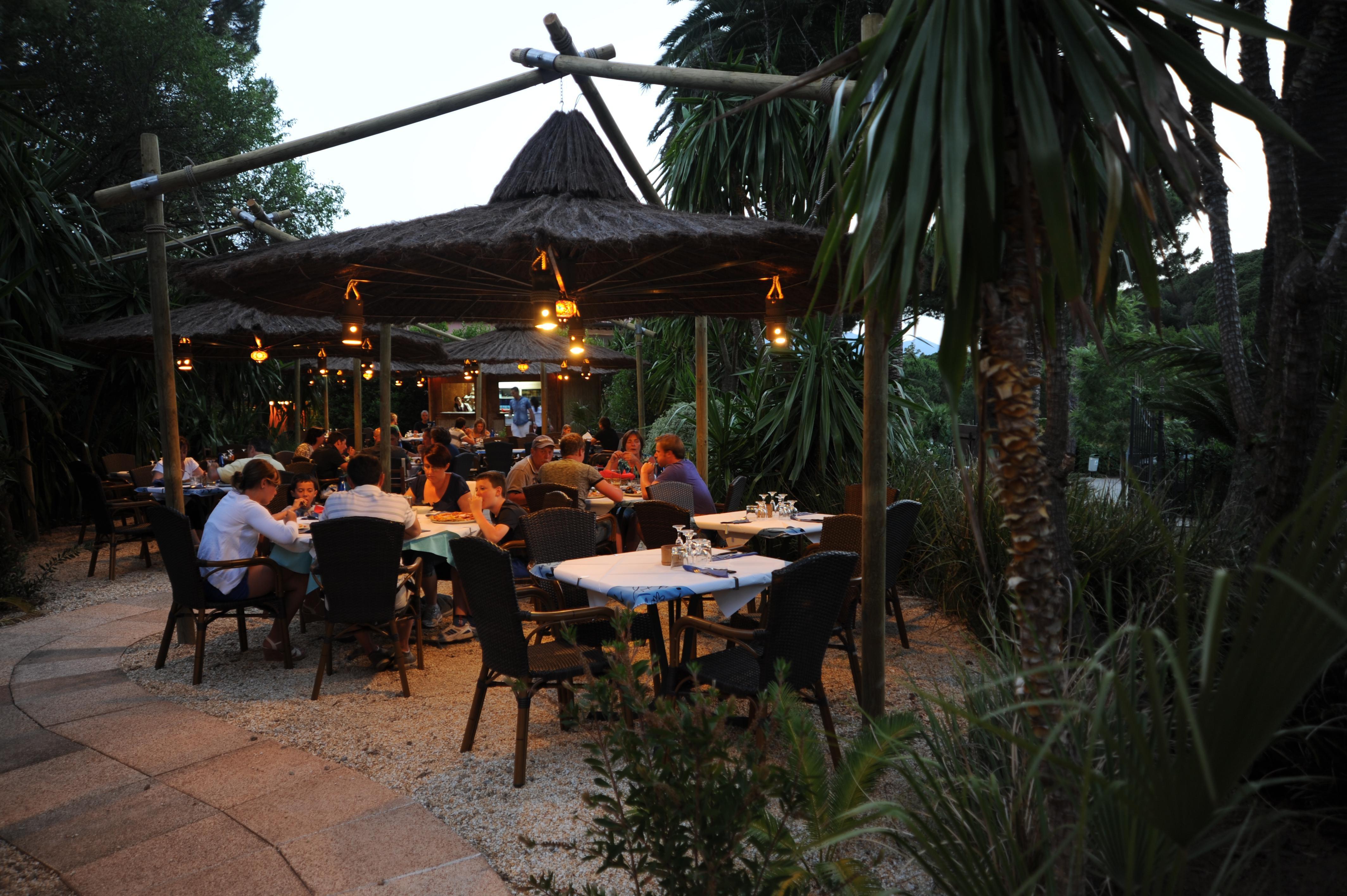 Restaurant camping Rosselba le Palme