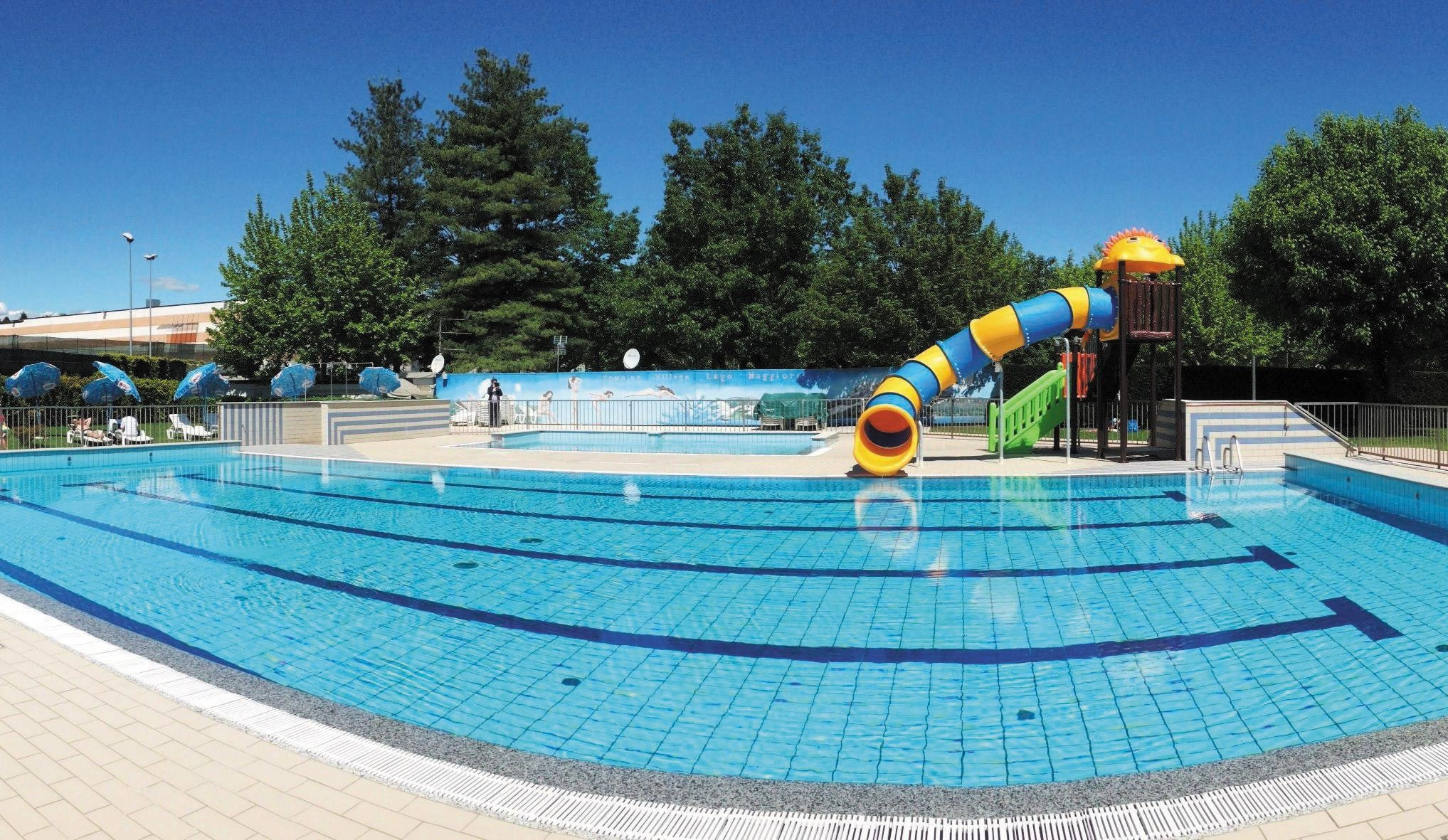 Zwembad Camping Village Lago Maggiore