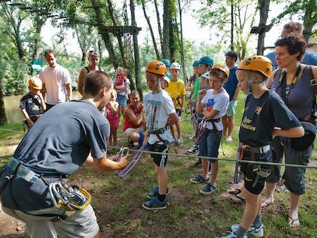 Survival camping Val de Bonnal