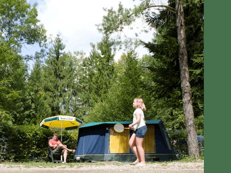 Bungalowtent Blue met kinderen
