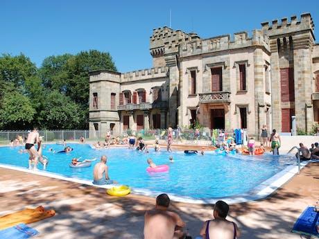 zwembad camping La Grange Fort