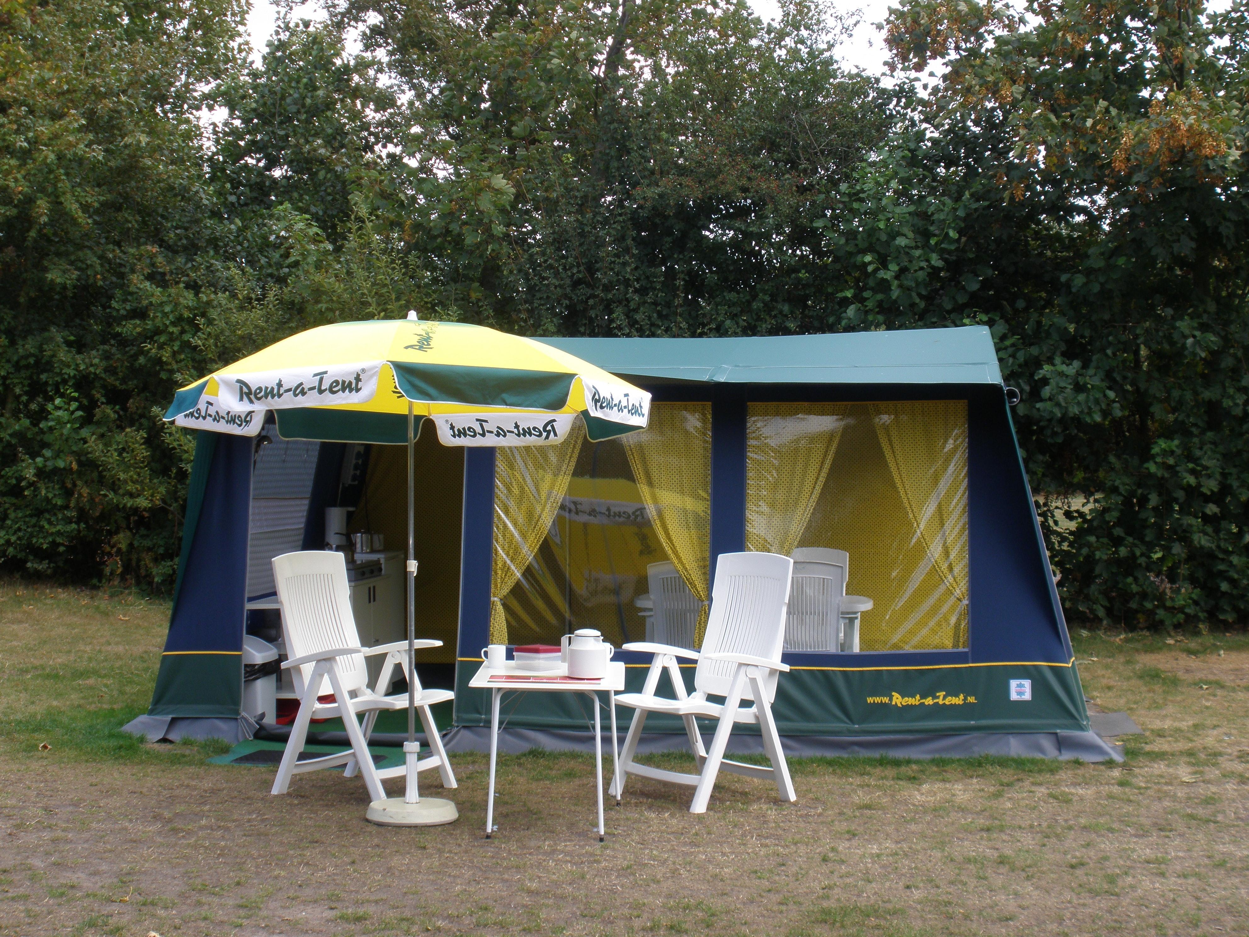 Bungalowtent Rent-a-Tent Blue