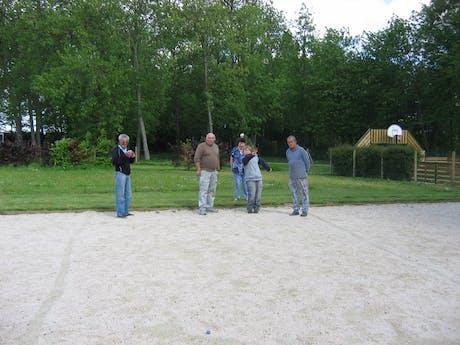 jeu de boules camping Les Etangs Fleuris
