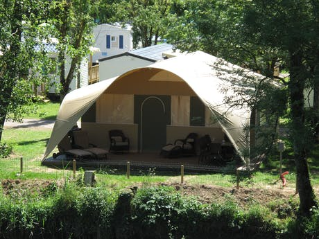 Grand Lodgetent 8 persoonsaccommodatie