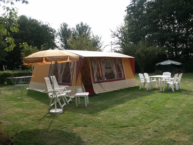 Bungalowtent Coral opstelling