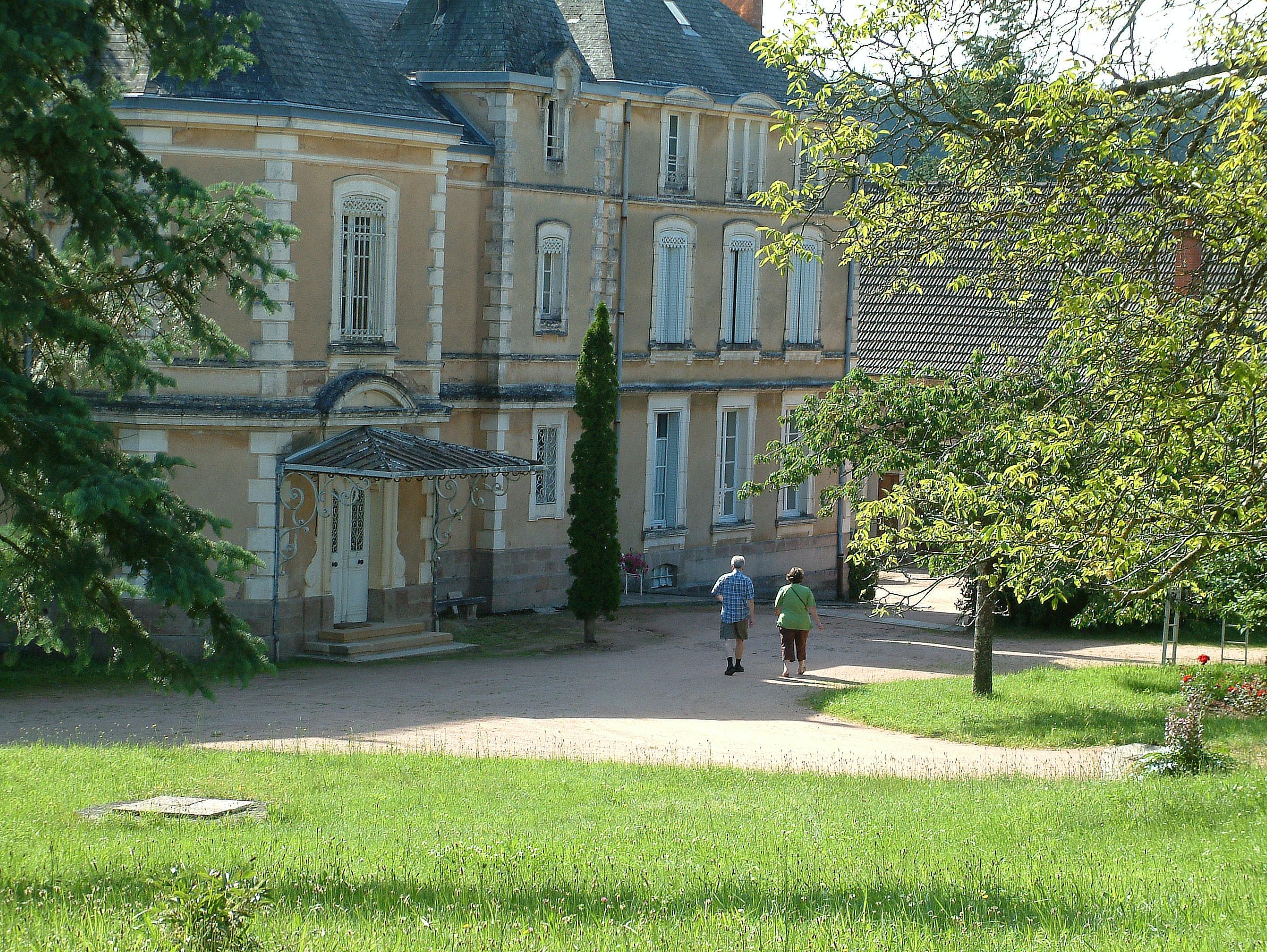 kasteel camping Château de Montrouant