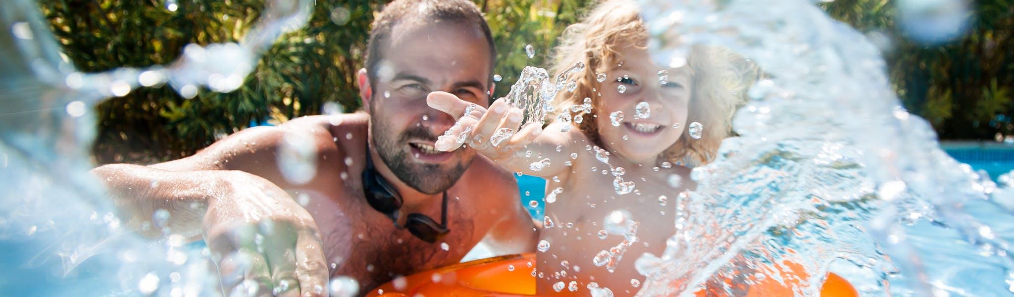 Zwembad campingvakanties Rent-a-Tent