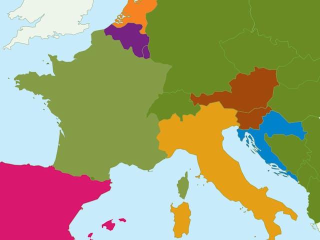 Kaart Europa