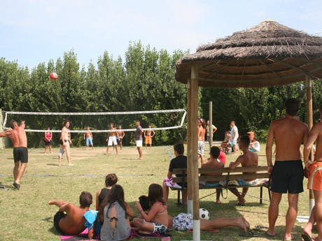 Volleybal camping Tahiti