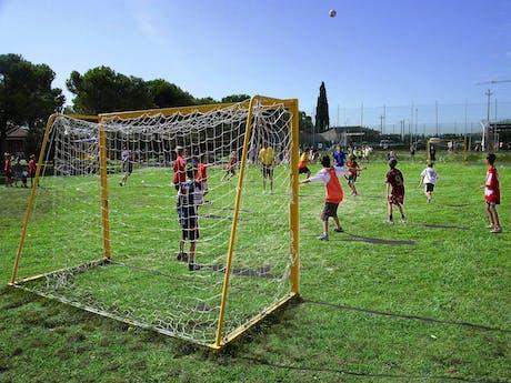 Voetbal camping Bella Italia