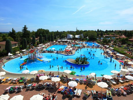 Zwembad camping Bella Italia