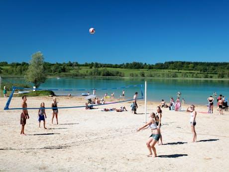 Volleybal camping Fayolan