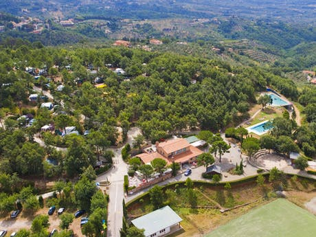 Panorama camping Barco Reale