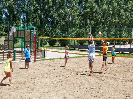 Volleybalveld camping la Sirene
