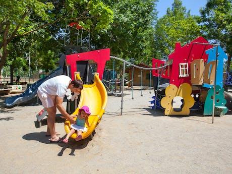 Speeltuin met familie camping la Sirene