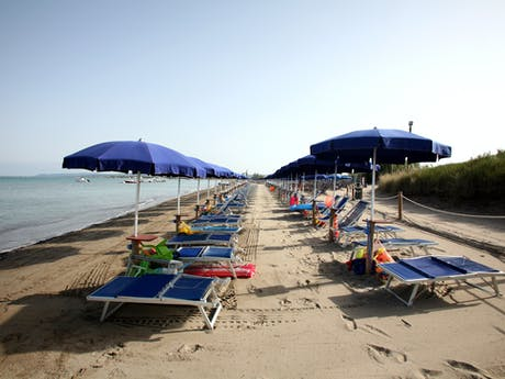 Strand camping Baia del Marinaio