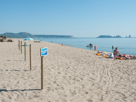 Strand camping Playa Brava