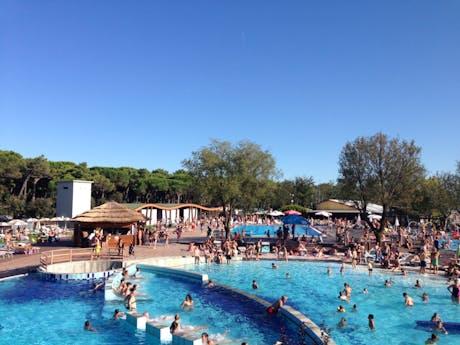 Spina camping Village zwembad