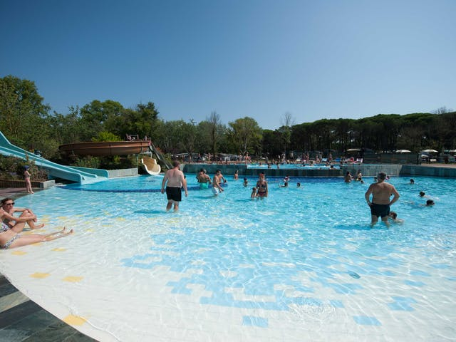 Kinderzwembad Spina camping Village
