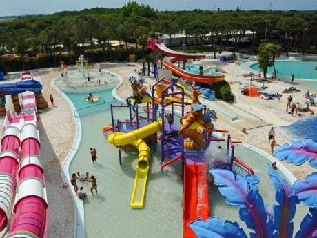 Waterpark camping Union Lido