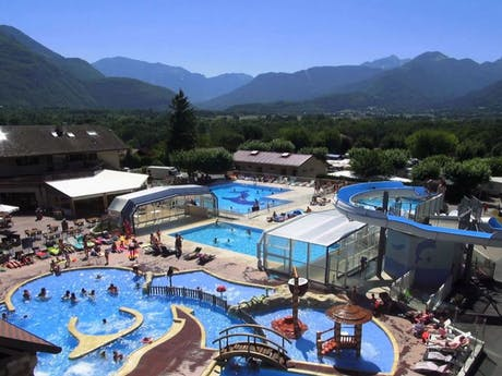 Zwembad camping l'Ideal