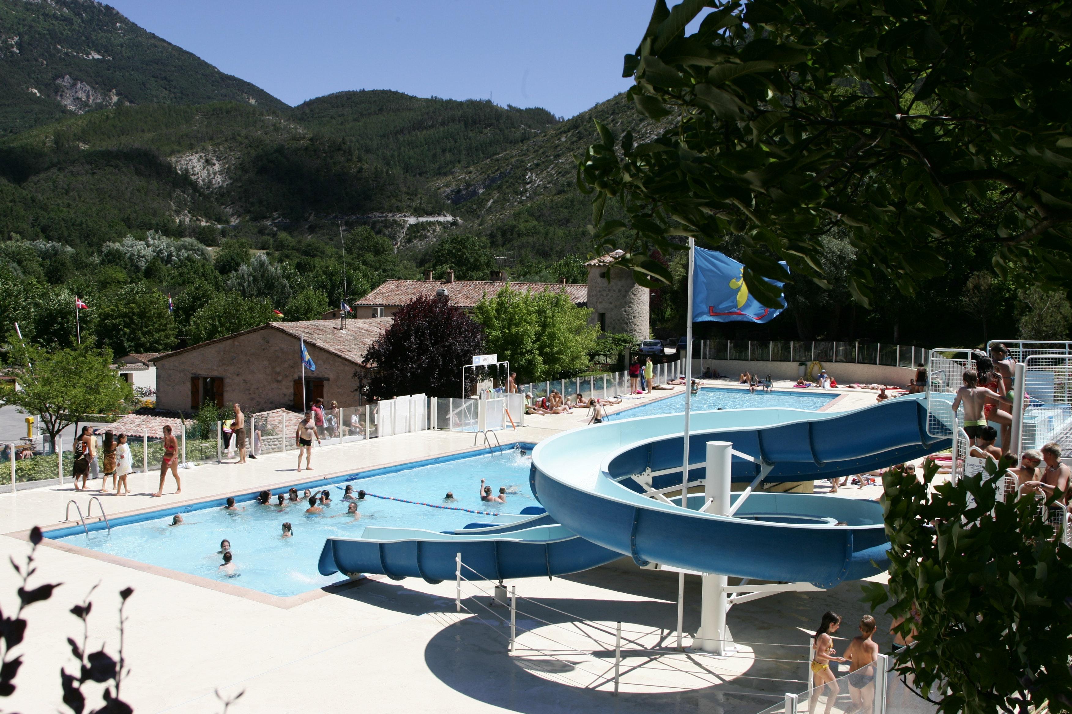 Zwembad Domaine du Verdon