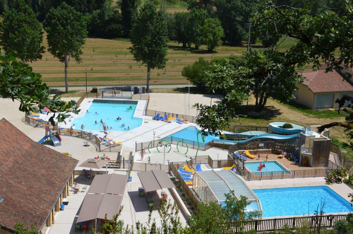 Le Moulin de Paulhiac zwembad