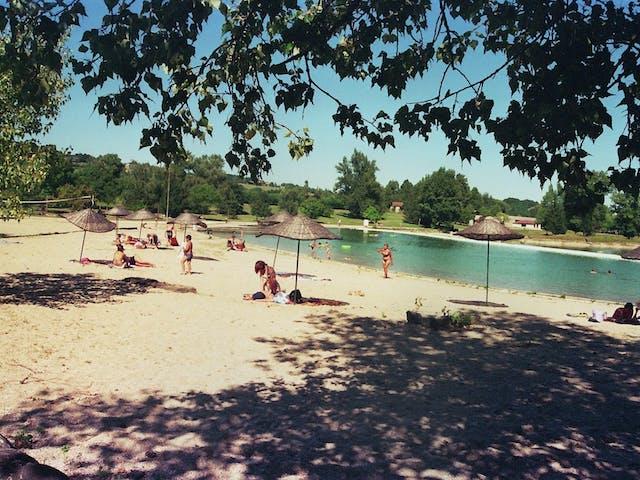 Domaine Les 3 Lacs du Soleil water