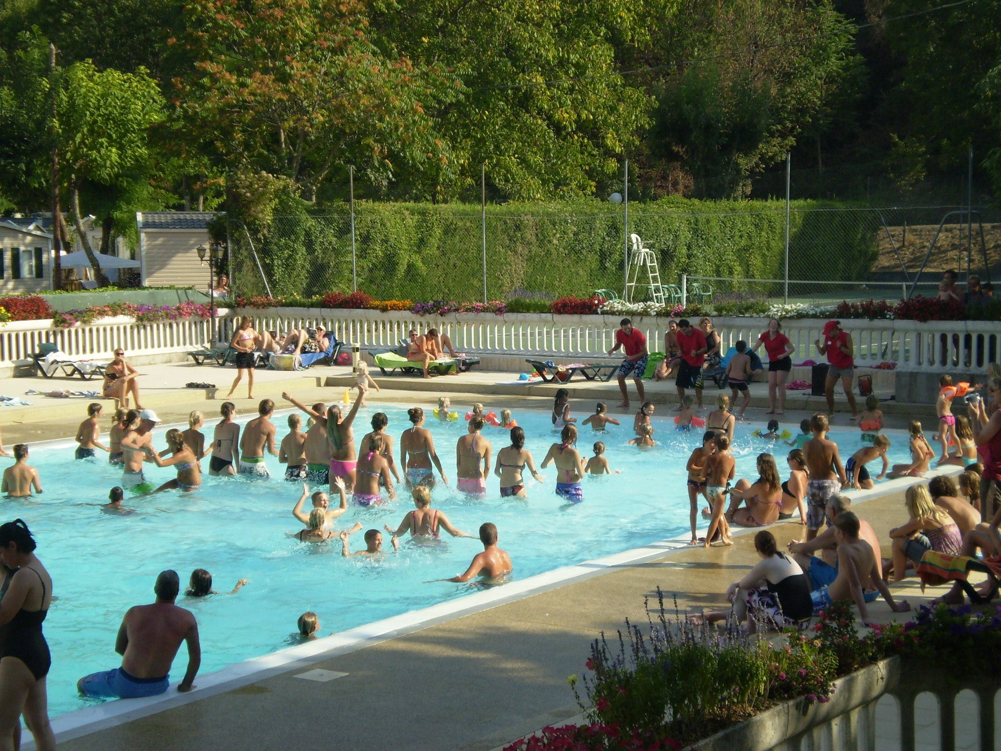 La Bastide en Ardèche zwembad