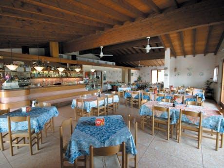 Restaurant bij camping Tiglio