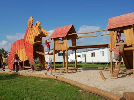 Camping Fuussekaul speeltuin