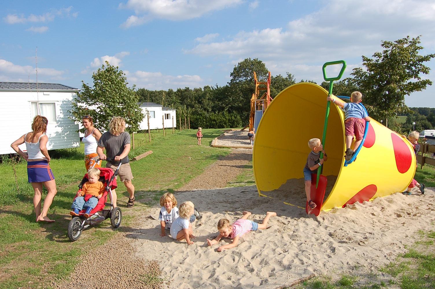 Spelen in zand Fuussekaul