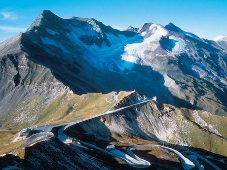Camping Woferlgut Oostenrijk bergen