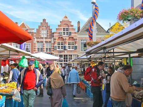markt in Dordrecht