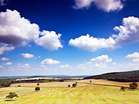 Bourgogne landschap