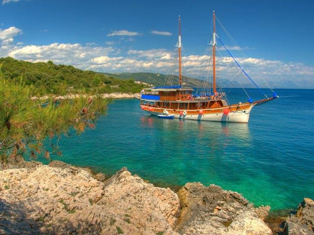 baai in Kroatie