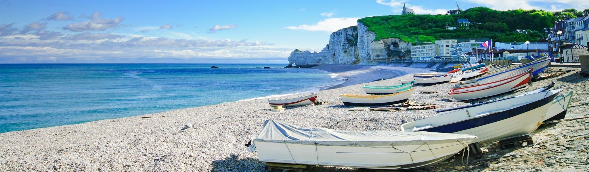 strand Normandie Entretat