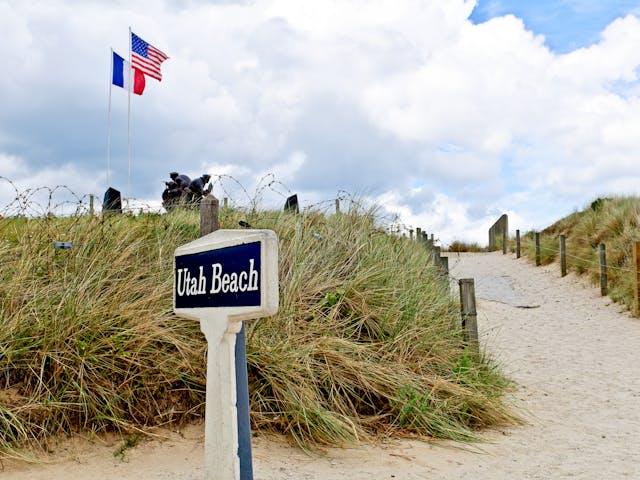 Utah Beach Normandie
