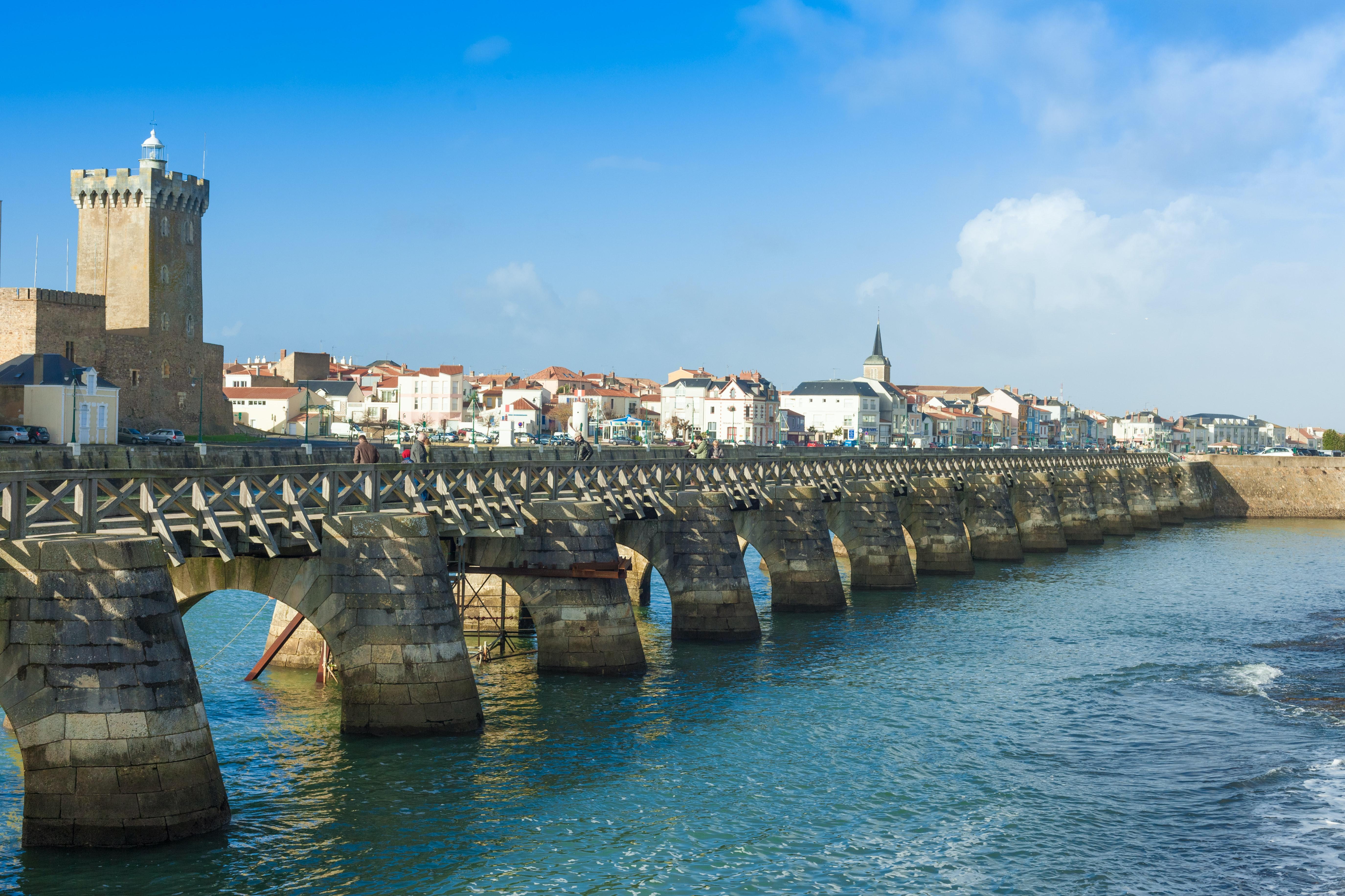 brug bij Sables d Olonne