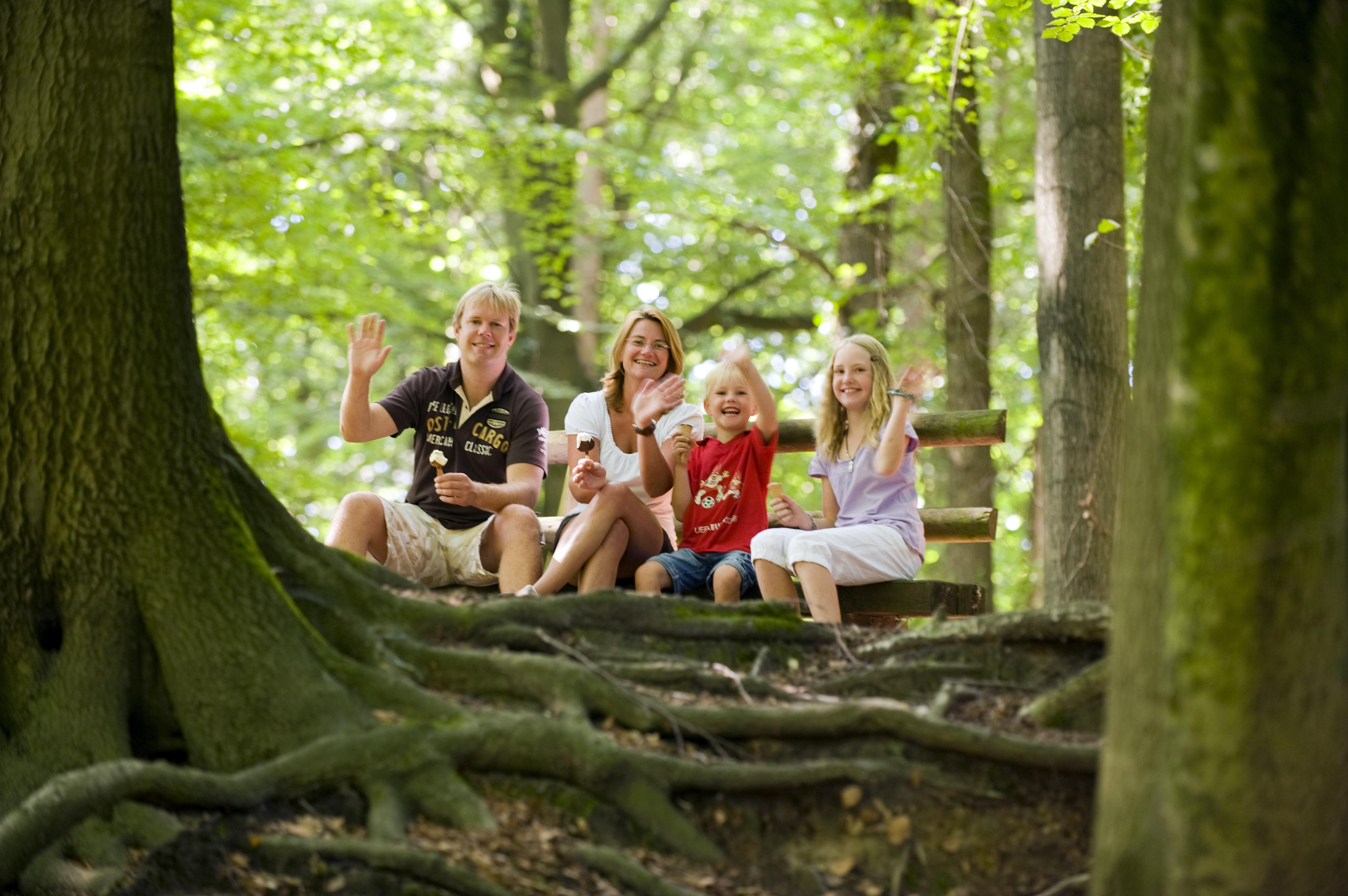 Wandelen bij Knaus camping Wingst