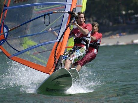 Windsurfen camping Rio Vantone
