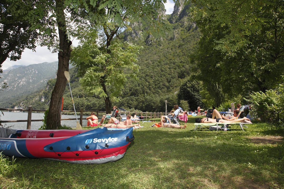 ligweide meer camping Rio Vantone